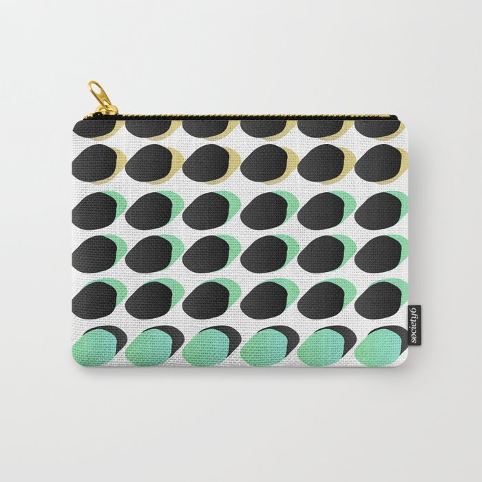 Polka_Dots Carry-All Pouch