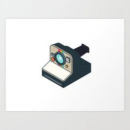 Retro Polaroid Art Print