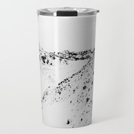 Black White World Travel Mug
