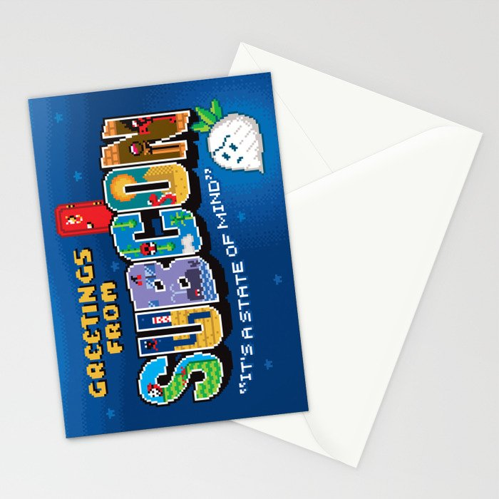 Greetings from Subcon Stationery Cards