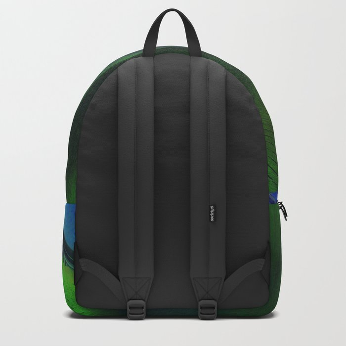 Bird of Prey Abstract Backpack