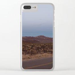 Cholla Cactus Garden XVIII Clear iPhone Case