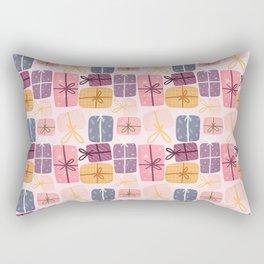 Gift Pattern Rectangular Pillow