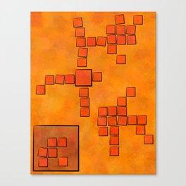 Elsemphiros - mosaic world Canvas Print