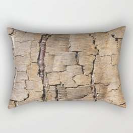 Brown tree trunk Rectangular Pillow