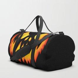 Evil Halloween pumpkin Duffle Bag
