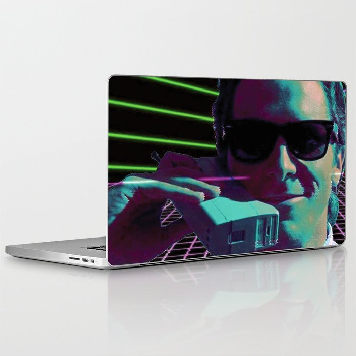 American Psycho calling Laptop & iPad Skin