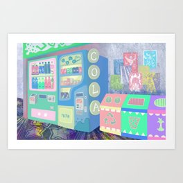 Pop Station Art Print