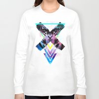 code Long Sleeve T-shirts featuring CODE X by alfboc