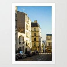 Montmartre series 1 Art Print