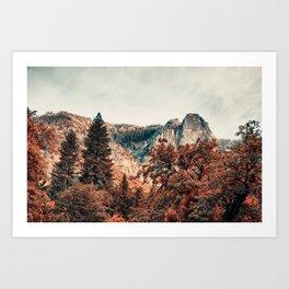 Yosemite Fall Colors Art Print