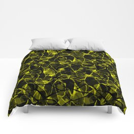 Abstract 31 camouflage Comforters