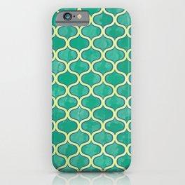 Watercolor Lovely Pattern VVV iPhone Case