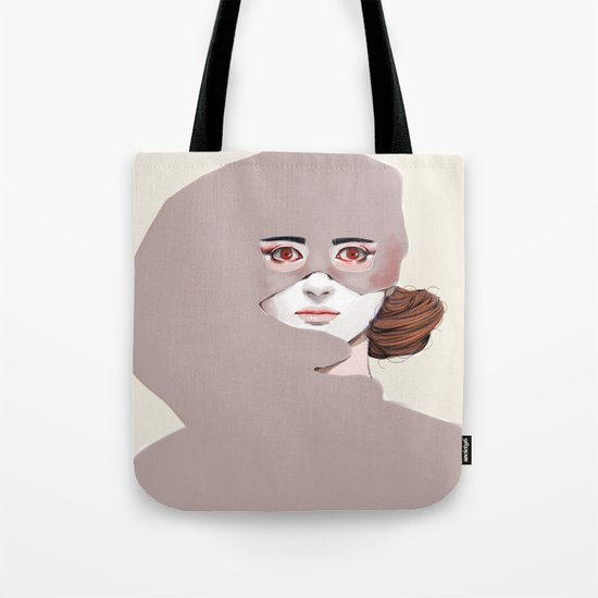 Untitled in Red Tote Bag