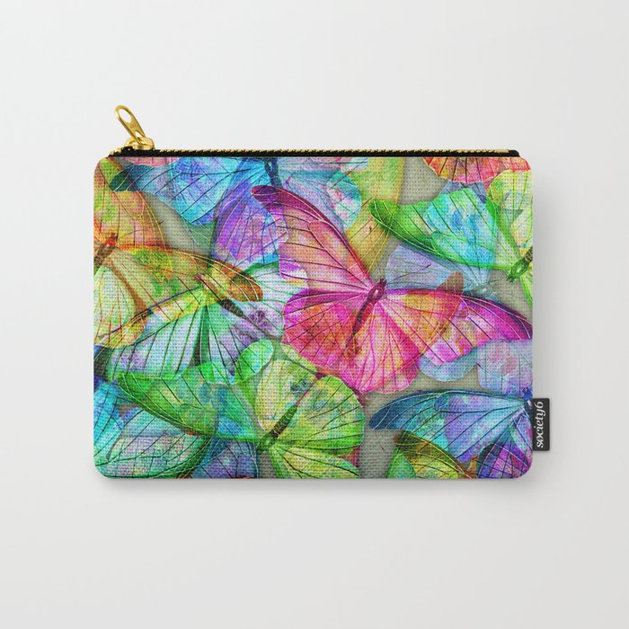 Butterfly Farm Carry-All Pouch