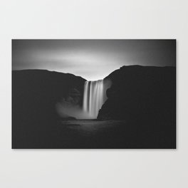 Skogafoss waterfall Iceland Canvas Print
