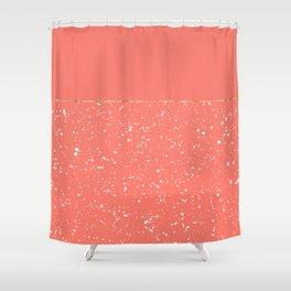 XVI - Peach 1 Shower Curtain