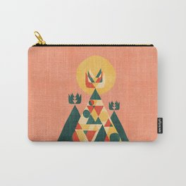 Sunset Tipi Carry-All Pouch