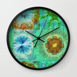 Superinstitute Open Flower  ID:16165-114222-70591 Wall Clock