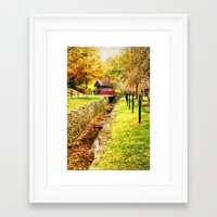 whisky Framed Art Prints featuring Whisky Creek by ThePhotoGuyDarren