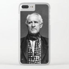 Sam Houston Photo Clear iPhone Case
