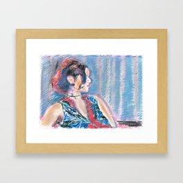 Chouchou 7 Framed Art Print