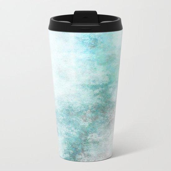 Abstract XXII Metal Travel Mug