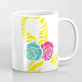 Endometriosis Ribbon 2 Coffee Mug