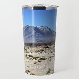 Landscapes of Andes mountain range Travel Mug