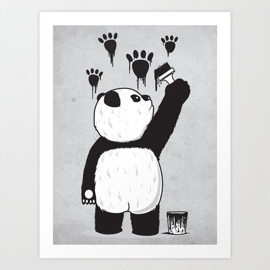 Pandalism Art Print