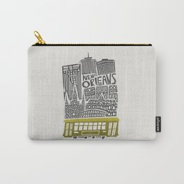 New Orleans City Cityscape Carry-All Pouch