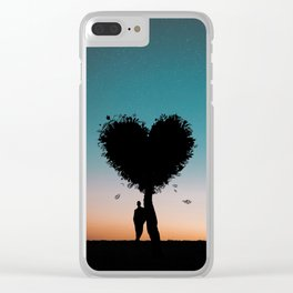 Part of nature Clear iPhone Case