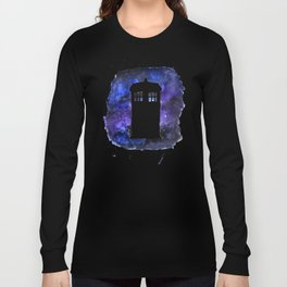 On Our Way to Gallifrey Long Sleeve T-shirt