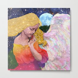 Angels Protect The Innocents Metal Print