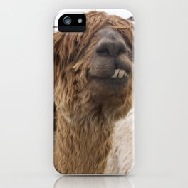 Fluffy Grin iPhone Case