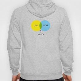 The Venn of Improv (Yellow/Blue) Hoody