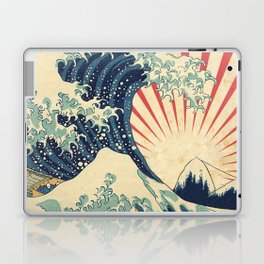 The Great Wave in Rio Laptop & iPad Skin
