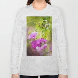 Wild Sweet Peas Long Sleeve T-shirt