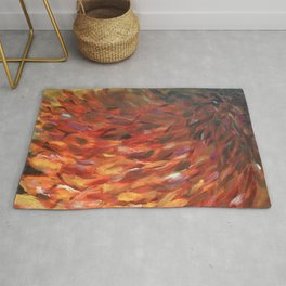Feather Abstract Rug