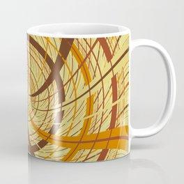 Brown vortex Coffee Mug