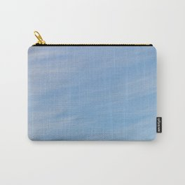 Wispy Blue Carry-All Pouch