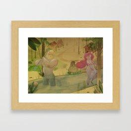 Mundos perdidos Framed Art Print