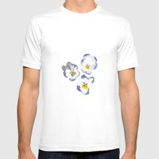 To Ponder Mens Fitted Tee White MEDIUM
