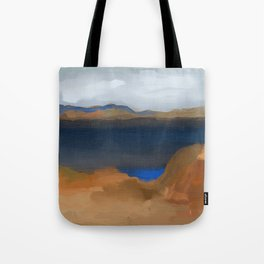 Lake with a Lagoon Tote Bag