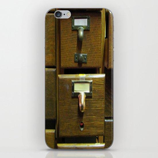 Used Card Catalog (Full of Toys) iPhone & iPod Skin