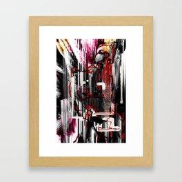 Digital Self observation Framed Art Print