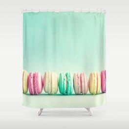 Macarons, macaroons row, pop art Shower Curtain
