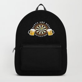 Weekend Forecast - Darts with a Chance of Drinking Backpack