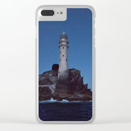 (RR 293) Fastnet Rock Lighthouse - Ireland Clear iPhone Case