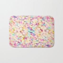 Candyfloss Bokeh Bath Mat
